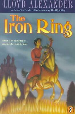 The Iron Ring by Lloyd Alexander (English) Paperback Book Free Shipping!