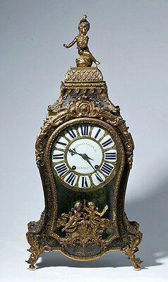 ARTEMIS GALLERY Important 18th C. French Rococo Clock - Charles Voisin