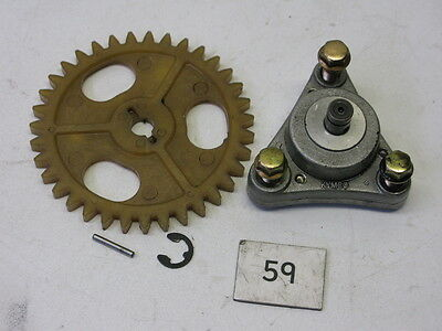 Kymco Agility 50 Oil Pump & Drive Gear #59