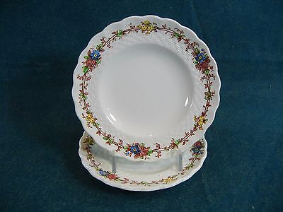 "Copeland Spode Hazel Dell S930 Set of 2 Small 5 1/2"" Bread and Butter Plates"