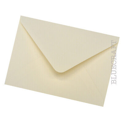 5 x 7 inch Ivory Premium Envelopes 100gsm - 133 x 184mm - All Quantities