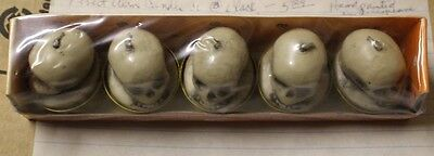 Amscan Mini Votive Tea-Lite with Skeleton Head Candles - 5 Pack NEW!