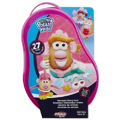 New Hasbro Playskool Mrs. Potato Head - Mermaid Story Pack Pink B6845
