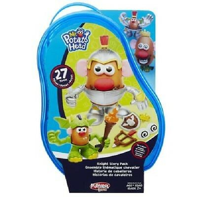 New Hasbro Playskool Mr. Potato Head - Knight Story Pack Blue B6845