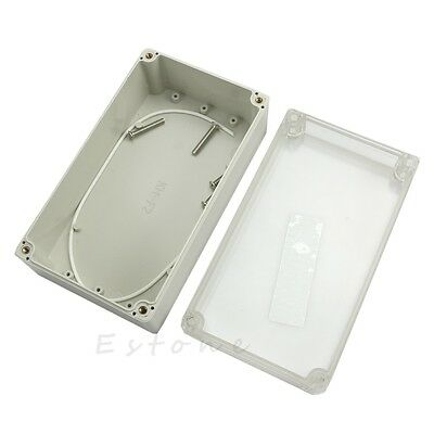 Waterproof Clear Project Electronic Box Enclosure Plastic Cover Case 158x90x60mm