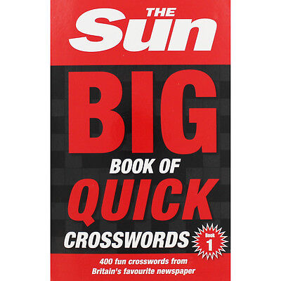 The Sun Big Quick Crosswords (Paperback), Non Fiction Books, Brand New