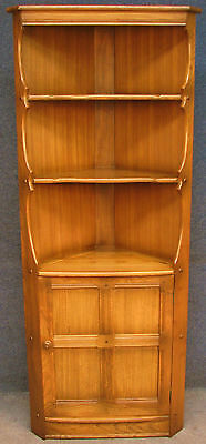 Ercol Elm Old Colonial 474 Golden Dawn Corner Unit / Cabinet / Cupboard