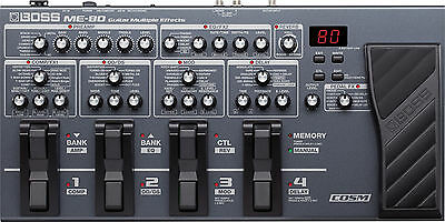 Boss ME-80 Guitar Multi Effects Pedal New ME80