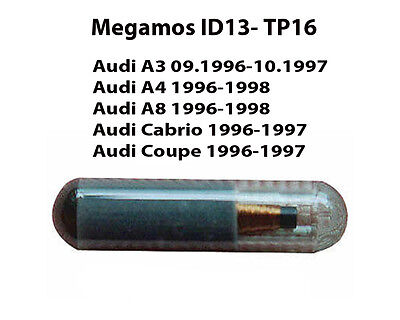 Audi Megamos Id13 For Audi A3 A4 A8 Cabrio & Coupe Models
