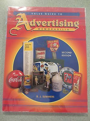 Value Guide to Advertising Memorabilia by B. J. Summers (1998) NIP