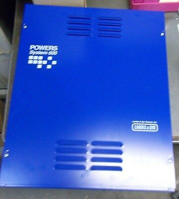 Landis & Gyr Powers System 600 540-012 Enclosure 16 X 20 Multi-Point System (Y5)