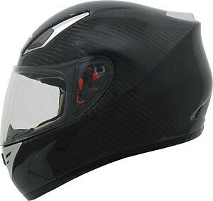 New Zoan 100% Carbon Fiber Revenge Light Weight Motorcycle Helmet Size Small