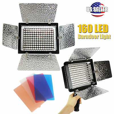 PHOTO STUDIO 160 LED Video Light Lamp for Canon Nikon Sony Camera DV Camcorder