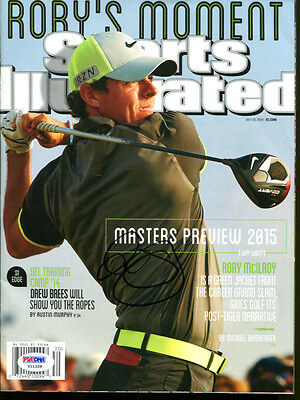 RORY McILROY SIGNED AUTOGRAPHED GOLF SPORTS ILLUSTRATED MAGAZINE PSA/DNA #X11228