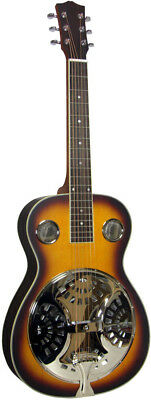 Ashbury AR-37 RESONATOR GUITAR, Square neck. Spruce top. At Hobgoblin Music