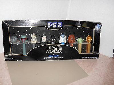 Star Wars Walmart Exclusive Limited Edition Collectible Pez Set