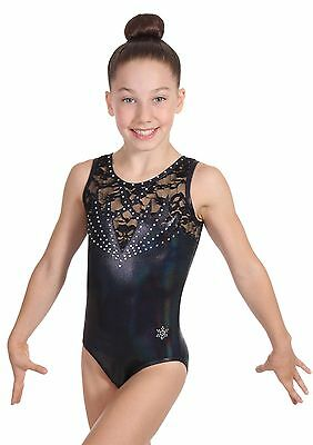 NEW!! Romance Gymnastics Leotard by Snowflake Designs - 7 colors to choose from