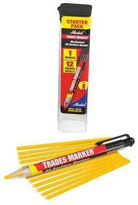 MARKAL 96131G Trades-Marker All-Surface Marker,Yellow