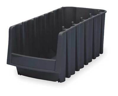 "Black Stack and Nest Bin, 17""L x 6-5/8""W x 7""H AKRO-MILS 30776BLACK"
