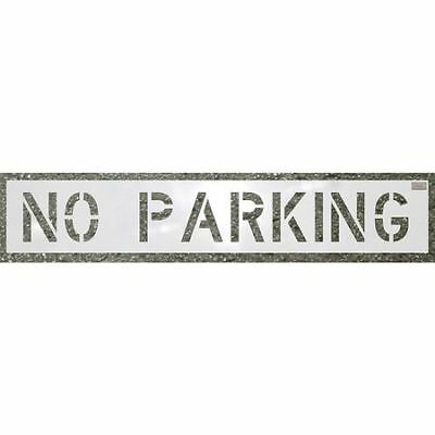 Stencil,No Parking,30 x 46 In. C.H. HANSON 70002