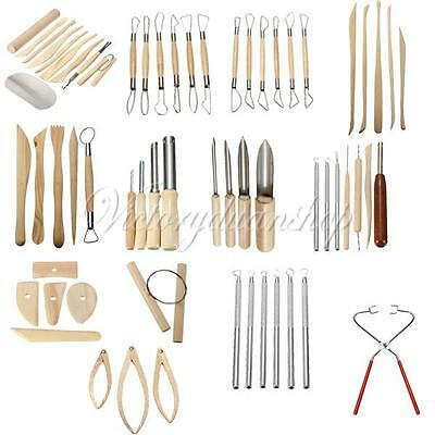 Variety Of Pottery Ceramic Tools For Clay Modelling Carving Sculpting Fimo Das