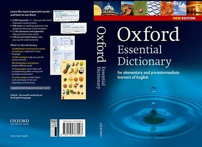 Oxford Essential Dictionary, New Edition: A new edition of the corpus-based dic.