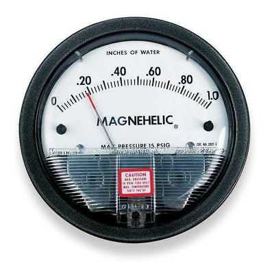 Dwyer Magnehelic Pressure Gauge,5 In to 0 to 5 In H2O DWYER INSTRUMENTS 2310