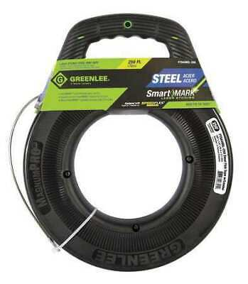 GREENLEE FTS438DL-250 Fish Tape, 1/8 In x 250 ft, Steel