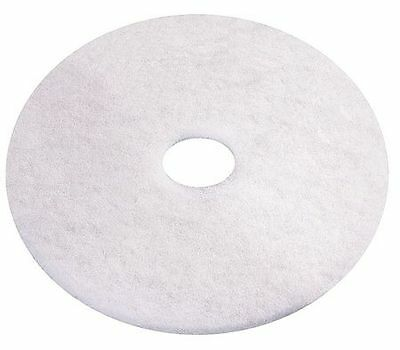 Recycled Recycled Polishing Pad, White ,Tough Guy, 6YMN5