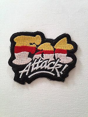 Fat  Attack Embroidered Patch With Adhesive Iron On Back Rare