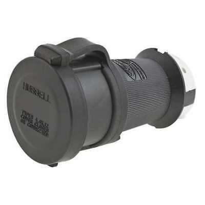 HUBBELL WIRING DEVICE-KELLEMS HBL2413SW 20A Watertight Twist-Lock Connector 3P