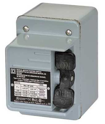 Manual Motor Switch, Square D, 2510KW2H