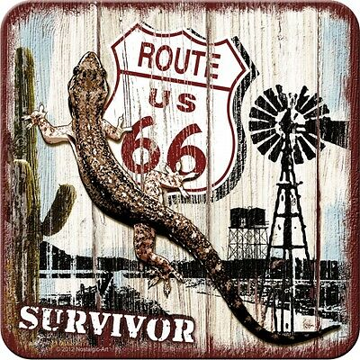 Nostalgic-Art Metall Untersetzer Route 66 Desert Survivor 46110