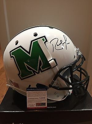 RANDY MOSS Autograph Signed Full Size F/S Proline Helmet Marshall PSA/DNA ITP