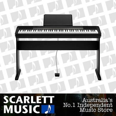 Casio CDP-130 88 Note Digital Piano w' Matching Wooden Stand **BRAND NEW**