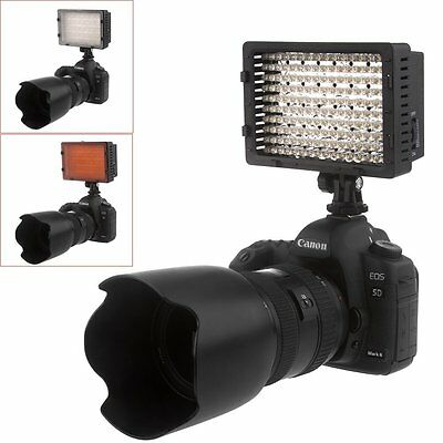 Neewer CN-160 LED Video Light Lamp Panel Dimmable for DSLR Camera DV Camcorder
