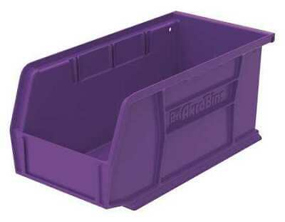 "Purple Hang and Stack Bin, 10-7/8""L x 5-1/2""W x 5""H AKRO-MILS 30230PURPL"