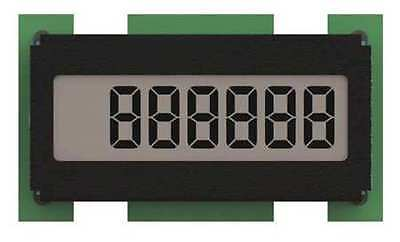 ENM C1101BB Electronic Counter, 6 Digits, LCD