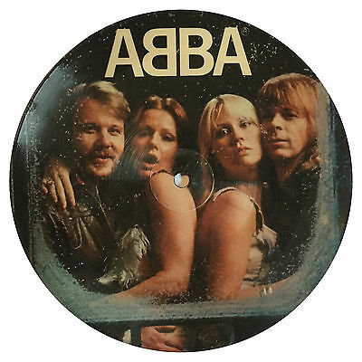 """ABBA - Knowing Me, You / Felice Hawaii (Ltd Picture Disco 7"""" Vinile) NUOVO"""
