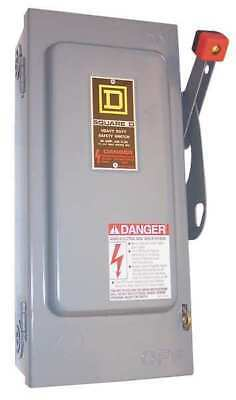 Square D 30 Amp 600VAC Single Throw Safety Switch 3P, HU361RB
