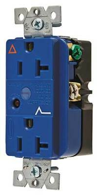 HUBBELL WIRING DEVICE-KELLEMS IG5362SA 20A Duplex Decorator Receptacle 125VAC