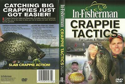 In-Fisherman Crappie Tactics Lakes Reservoirs Spring Summer Fall  DVD NEW