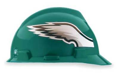 MSA 818406 NFL Hard Hat, Philadelphia Eagles, Grn/Wht