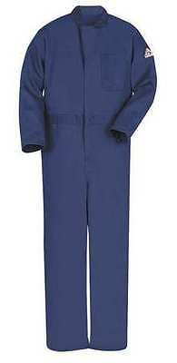 Bulwark Cec2nv Rg/40 Fr Contractor Coverall, Navy, M, Hrc2