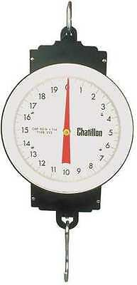 CHATILLON & SONS WH-100 Mechanical Hanging Scale,Dial,Steel