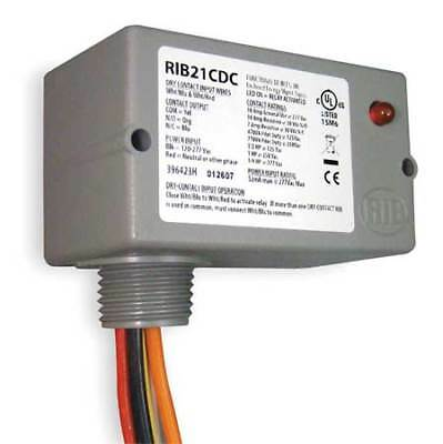 Enclosed Pre-Wired Relay, Functional Devices Inc / Rib, RIB21CDC