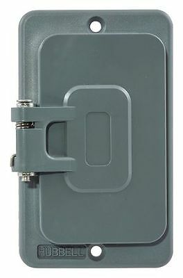 Weatherproof Cover, Hubbell Wiring Device-Kellems, HBL3061