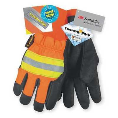 Mcr Safety Size M Leather Driver's Gloves,34411M