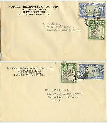 1950s Jamaica Broadcasting Co cover