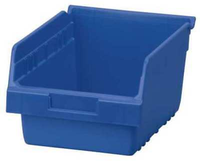 "Blue Shelf Bin, 11-5/8""L x 8-3/8""W x 6""H AKRO-MILS 30080BLUE"